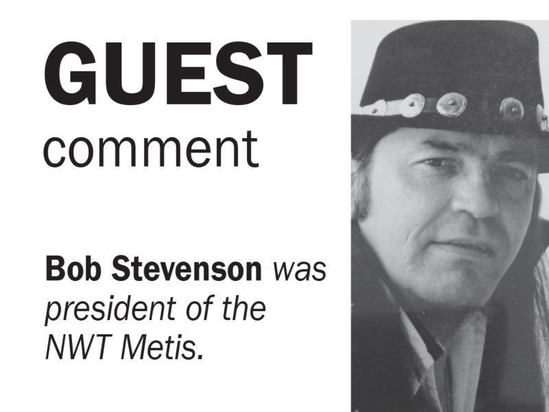 Bob Stevenson NWT Metis